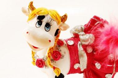Children's toy cow