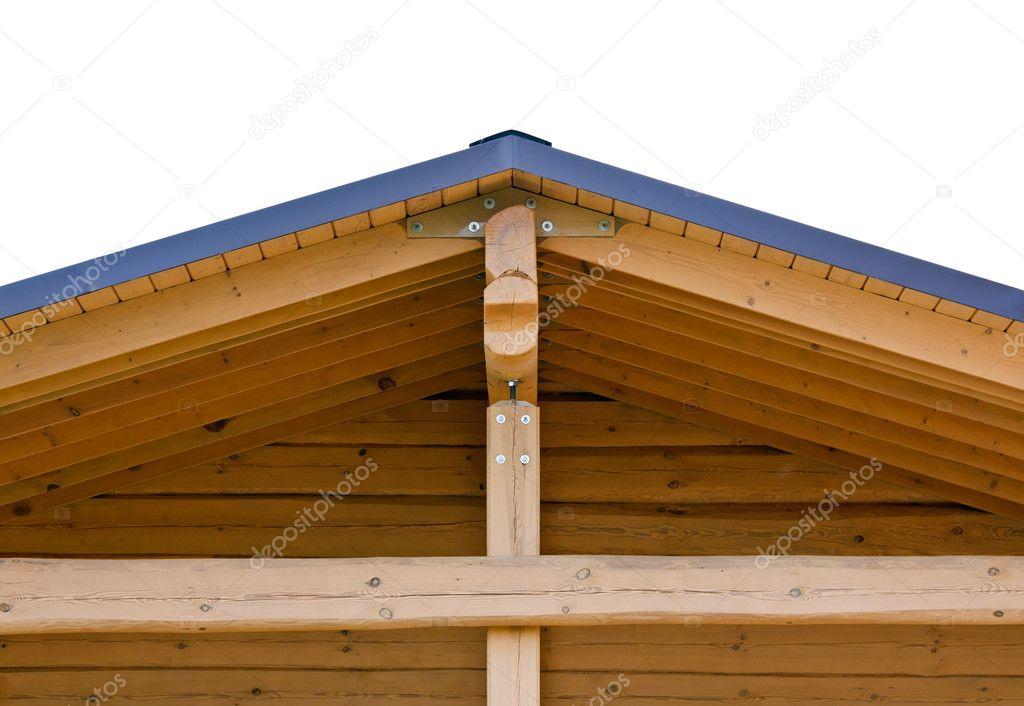 Cerchas en tejado de casa foto de stock mrtwister 3828266 for Imagenes de tejados de madera