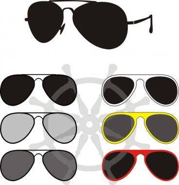 Glasses collection - a fashion, sports