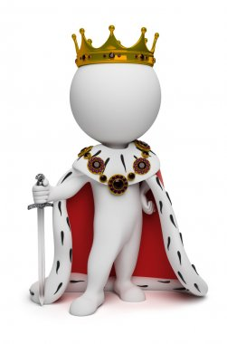 3d small - king