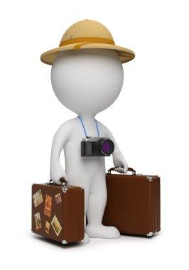 3d small - tourist