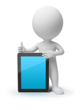 3d small - iPad