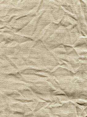 Crumpled fabric