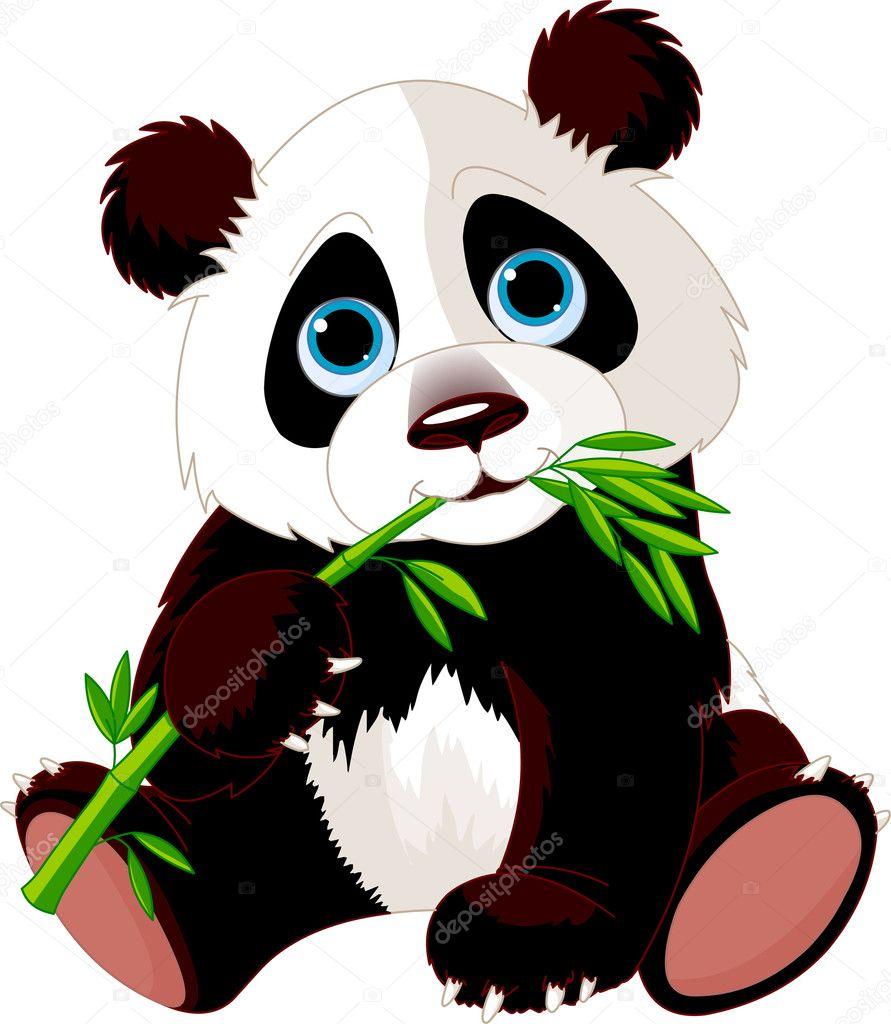 ᐈ Panda Eating Bamboo Drawing Stock Images Royalty Free Panda Eating Bamboo Illustrations Download On Depositphotos