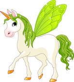 Fotografia cavallo coda verde fata