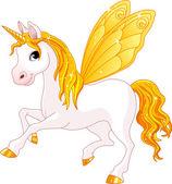 Fotografia cavallo di fata coda gialla