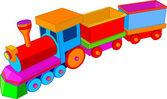 Fotografie Spielzeugeisenbahn