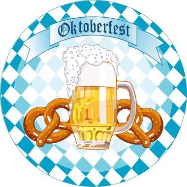 Oktoberfest Celebration round design