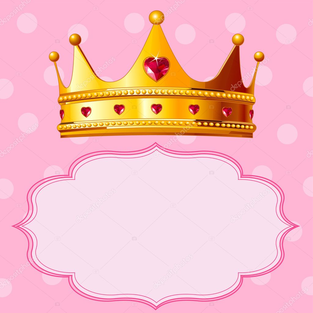 Fondo Fondos De Coronas De Princesas Corona De La Princesa En