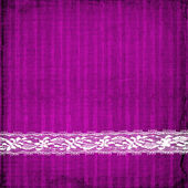 Photo Lilac card for invitation with lace