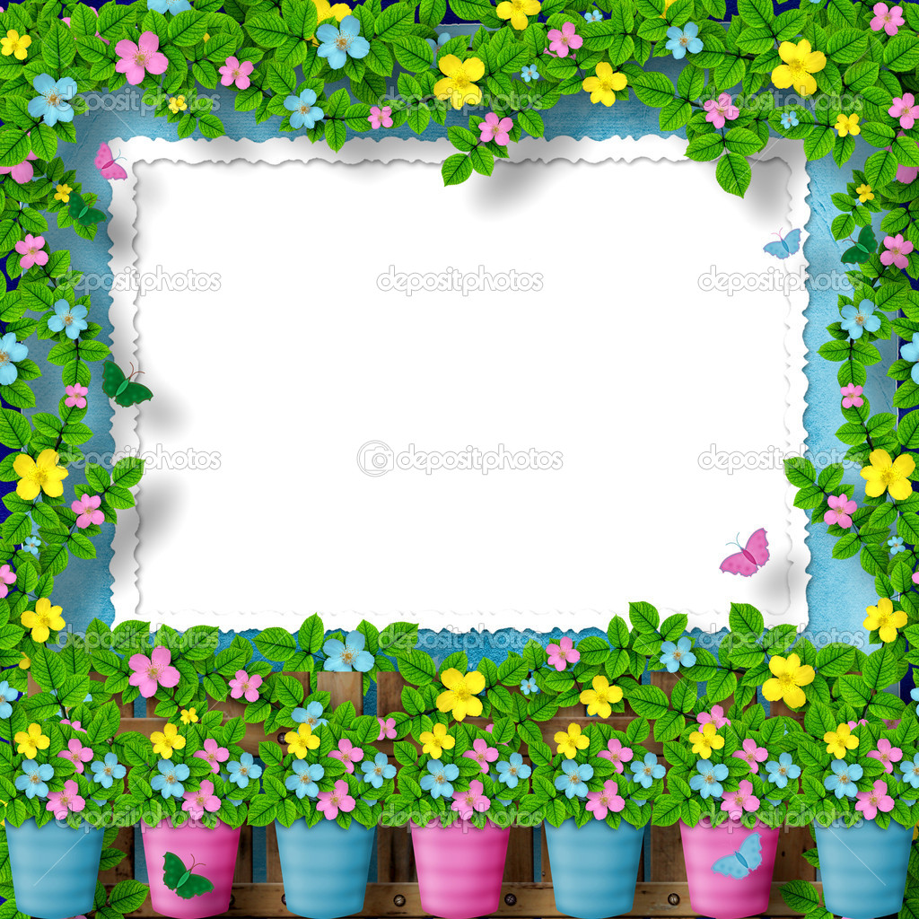 Frame for greeting or congratulation