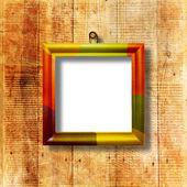 Fotografie Grunge interior with frame