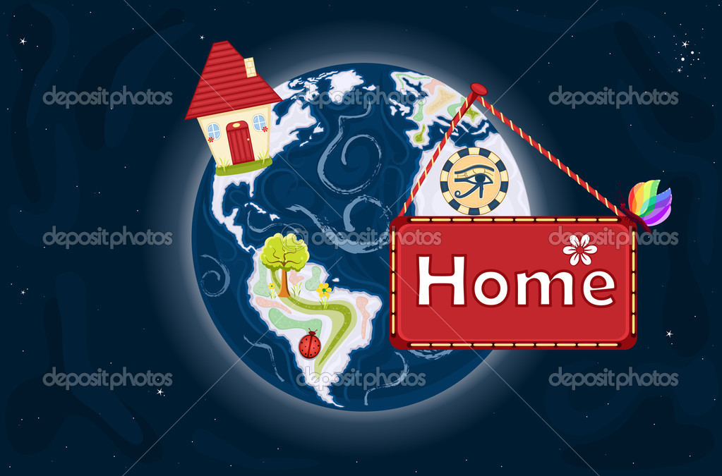 Home Sweet Home - planet Earth