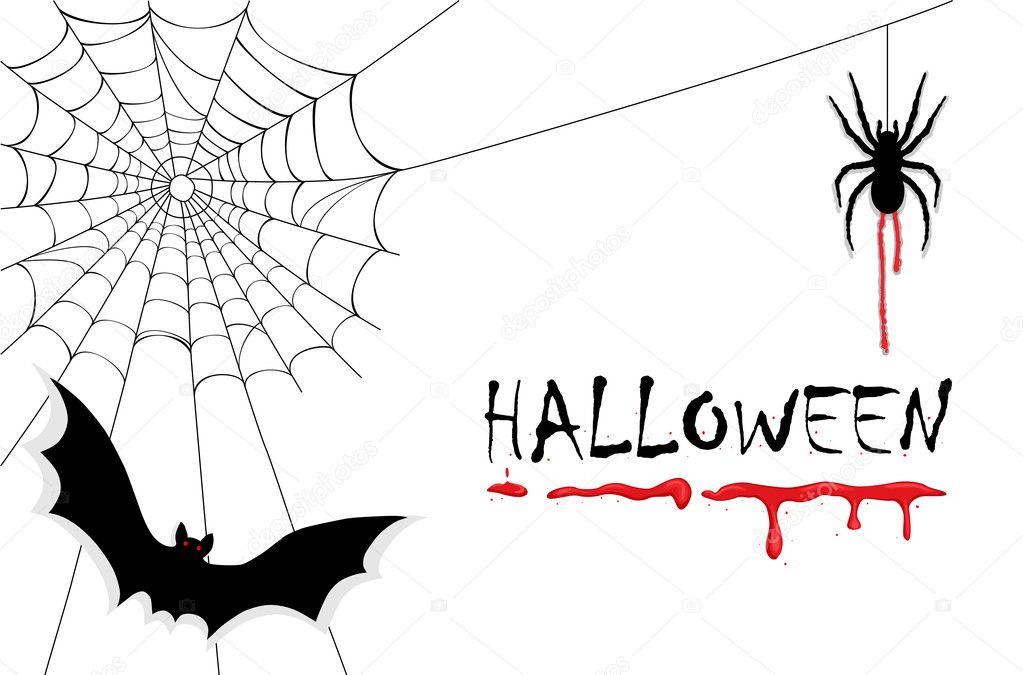 gruselige Halloween Vampire — Stockvektor © Eireann #3741188