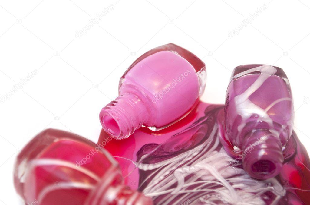derramada esmalte de uñas — Foto de stock © Digifuture #2718499