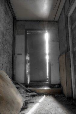 Light Coming Through Closed Door