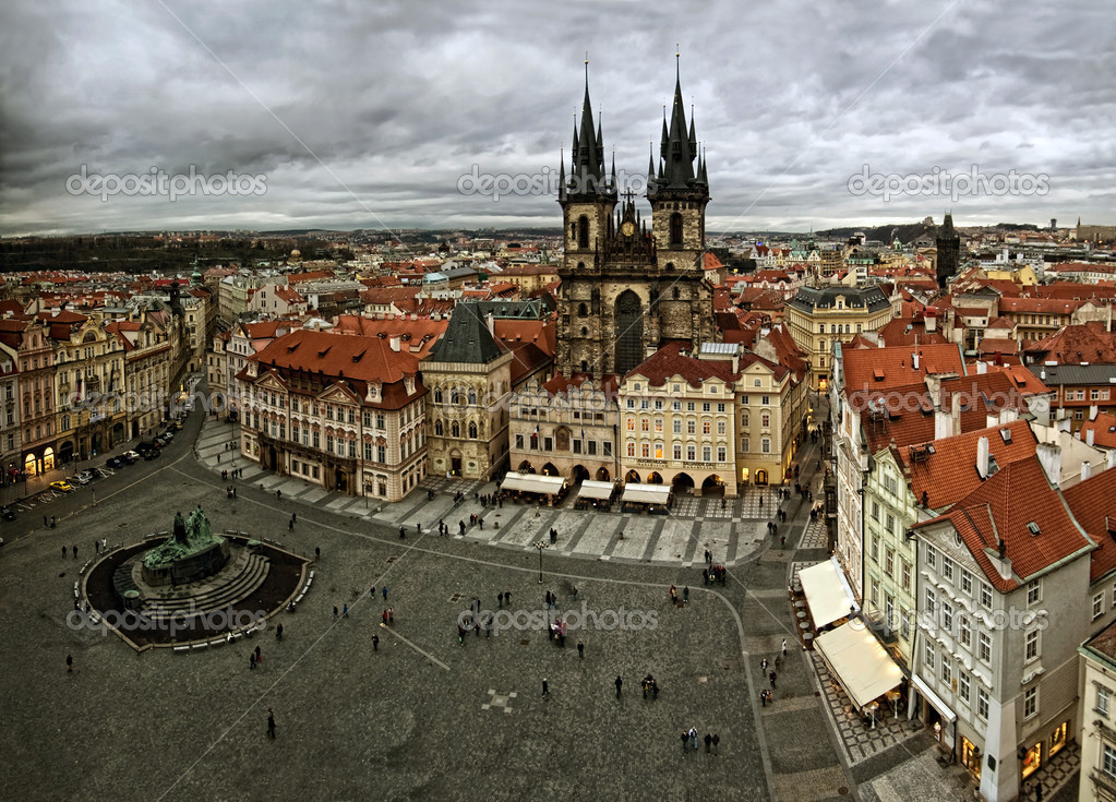 View of old Prague