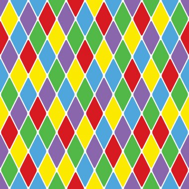 Harlequin parti-coloured seamless pattern 3.6