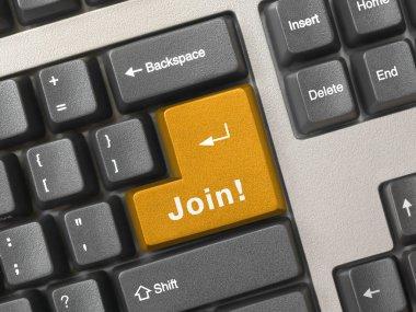 Computer keyboard - key Join