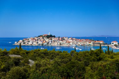 Town Primosten in Croatia