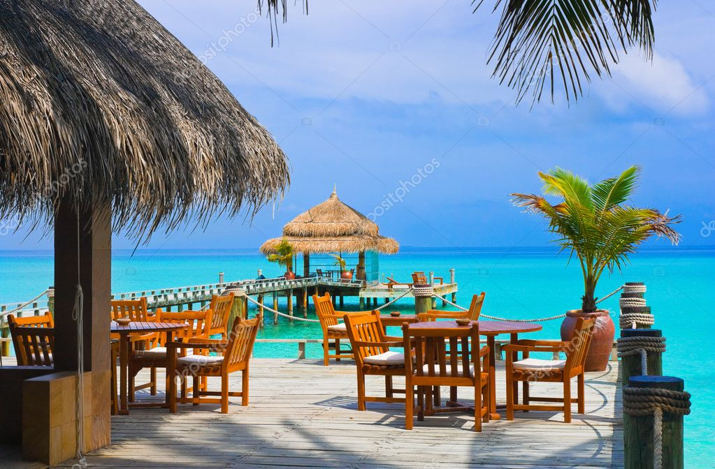 Cafe on the beach