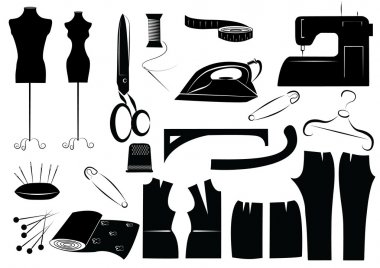 sewing equipment symbols