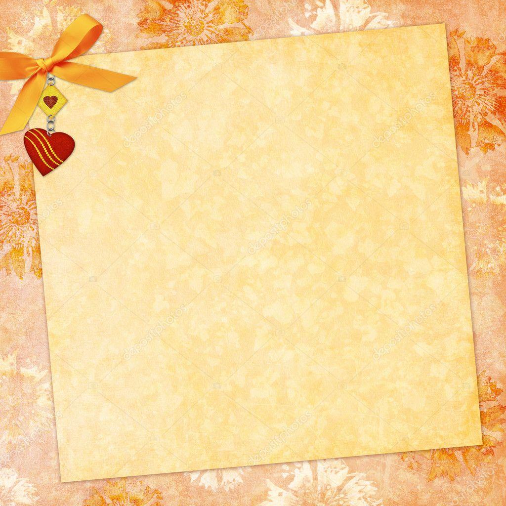 Vintage background for invitation — Stock Photo © welena #2898037