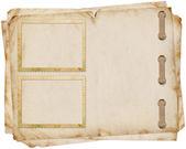 Vintage Papier mit Rahmen