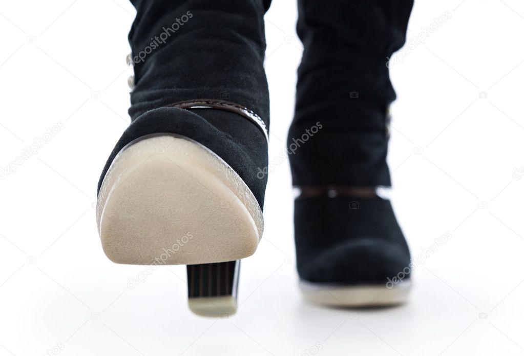 Женские ножки в сапогах фетиш, я хочу тренировать