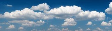 Panorama sky and clouds