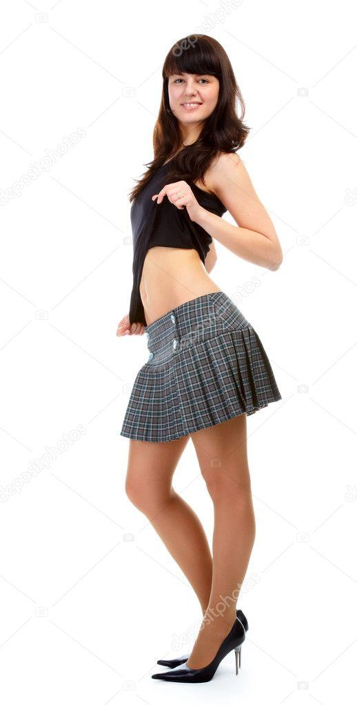 фото женщин в коротких юбках каторым за 40