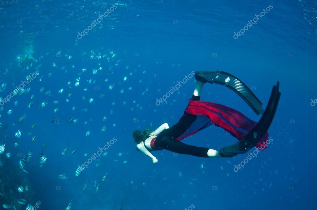 Underwater overindulgence