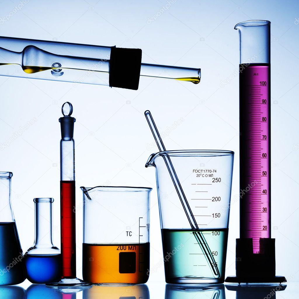 Laboratory glass — Stock Photo © Irochka #5138114