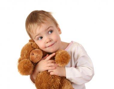 Babby with bear