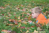 Fotografie Autumn child
