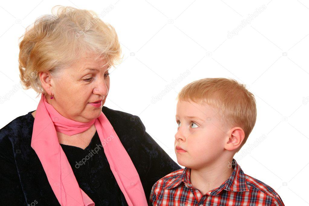бесплатно очень старая жирная бабушка соблазнила внука