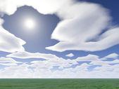 Fotografie Cloud a syn 2