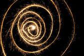 Fotografie wunderkerze spirale