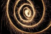 wunderkerze spirale