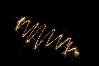 Sparkler twirl