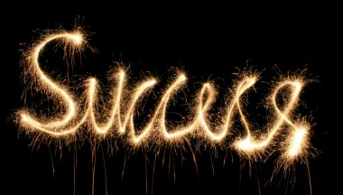 Success sparkler