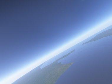 Horizon over Earth
