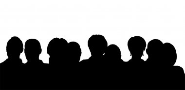 heads silhouette