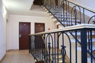 Hotel stair