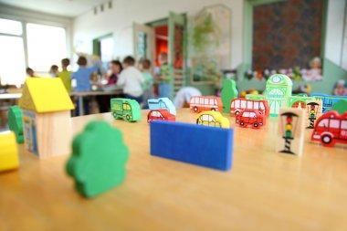 Toys in kindergarten