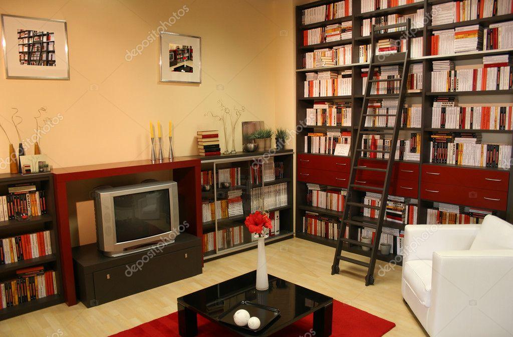 Особенности обустройства и дизайна домашней библиотеки папа .