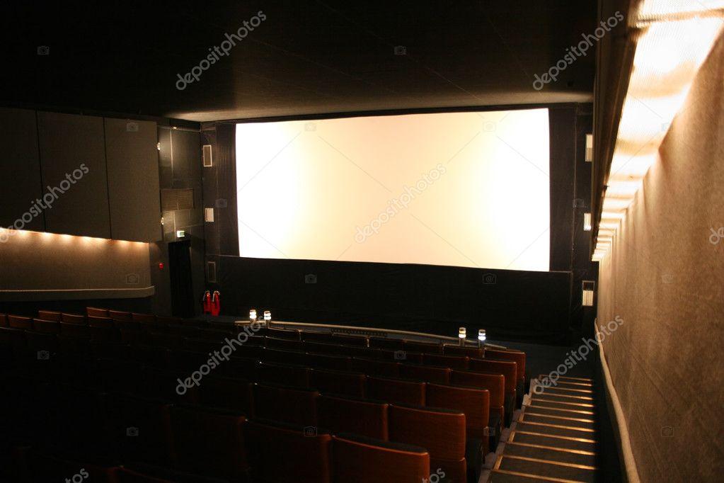 Cinema interior stock vector