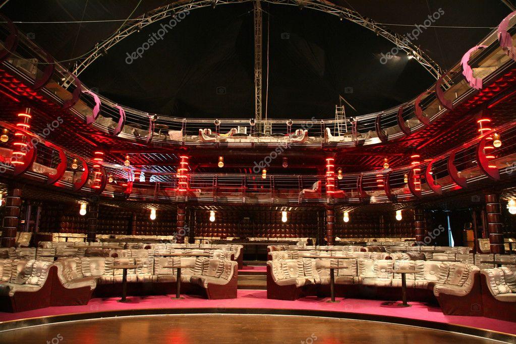 Luxury audience hall stock vector