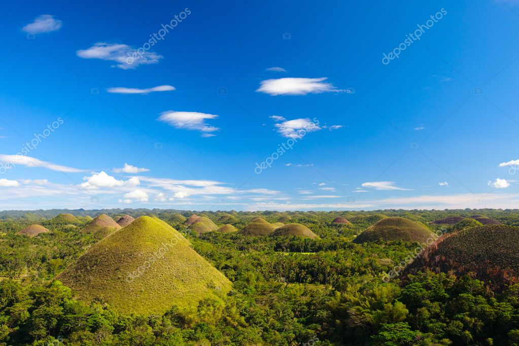 Фотообои Bohol Chocolate Hills