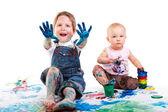 Fényképek gyerekek festmény